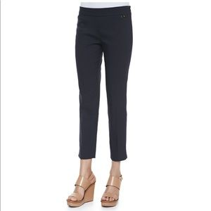 Tory Burch 'Callie' Skinny Ankle Pant in Navy